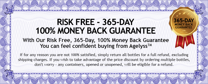 Risk Free, 365 Day, 100% Money Back Guarantee